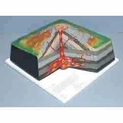 Model Of Volcano BPG3356
