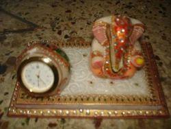 Marble Ganesha Watch
