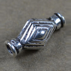 Shiny 925 Silver Olive Shaped Bead
