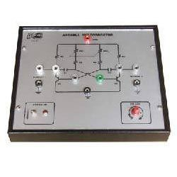 Astable Multivibrator Trainer Board