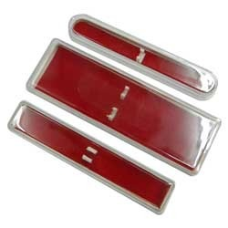 Red Plastic Pen Boxes