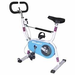 Exercycle With Rowing Arm