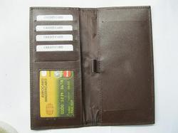 Brown Cheque Book Holders