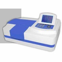 Microprocessor UV VIS Spectrophotometer Double Beam