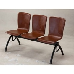 Three Seater L Shaped PVC Covered Chair