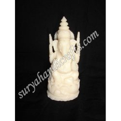 Bone Long Sitting Ganesh