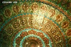 Round Minakari Ceiling