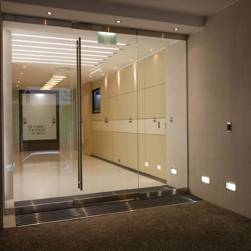Frameless Glass Door Shop Front Silvershine Industries Kolkata