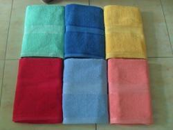 White Plain Hand Terry Towels, Square, 250-350 GSM