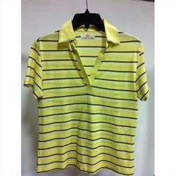 Strip Half Sleeve T-Shirts