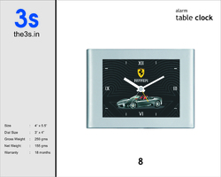 Designed Table Clock