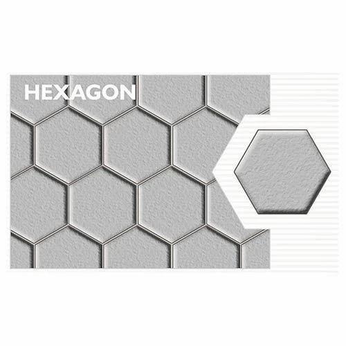 Hexagon Concrete Paver Block, Cobbles, Pebbles & Pavings | Udayam