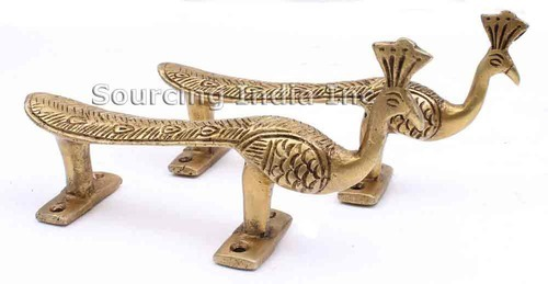 2 Peacock Pull Door Handles Knob Home Decor - Sourcing India Inc ...