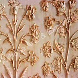 Antique Finish Mugal Panel