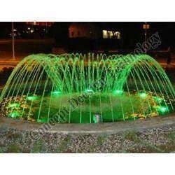 Dome Fountain In Green