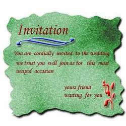 Invitation Cards Designing Services In Pune