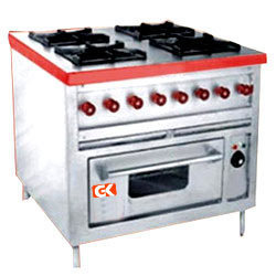 Four Burner Continental Range