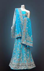 Embroidered Lehengas - Lehngas Wholesale Trader from Ludhiana