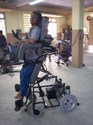 Joystick Operated Stand Up Wheelchair