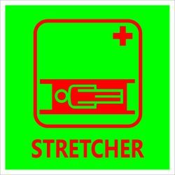 Stretcher Signage