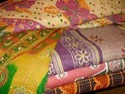 New Vintage Sari Quilt