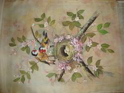 Colourful Birds Paintings