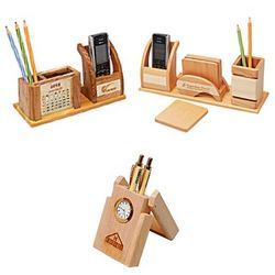 Pen Holder With Mobile Stand