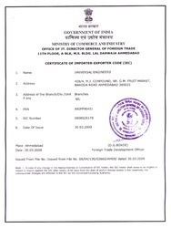 Import & Export License