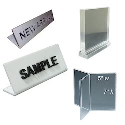 Acrylic Information Display