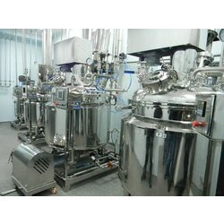 Mild Steel Pharmaceutical Vessel, Capacity: 20-100 L And 1000-10000L