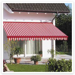 Decorative Retractable Terrace Awnings