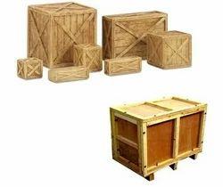 Rectangular Rubber Wood Wooden Crates