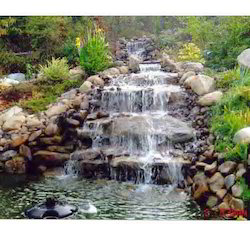 Outdoor Water Falls And Garden Water Falls
