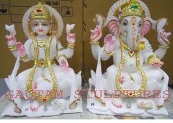 Ganesh Laxmi Statues