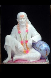 Shirdi Sai Baba Murti from Marble