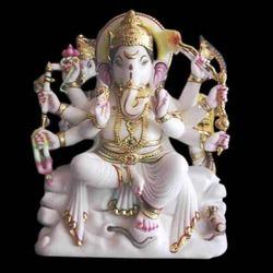 Marble Ganesh Statue - Ga-4050
