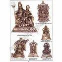 Brass Family Ganesh Ji