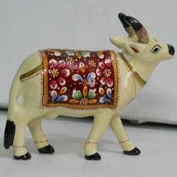 Meenakari Cow Statue