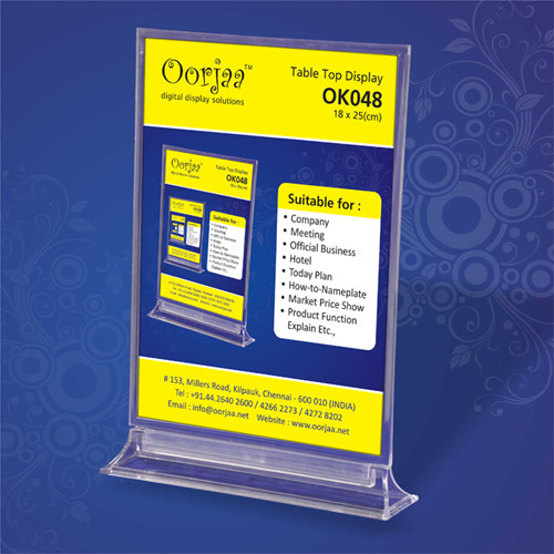Promotional Tools Table Top Display