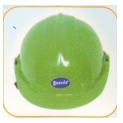 Abs Guards ISI Mark Officer Helmet, For Construction, Office Etc., Size: Free Size