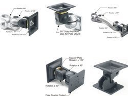 Cast Aluminium Silver Darshana Flexible Mounts, Size: 90mmx90mm, 115mmx115mm, Industrial Hmi Monitor