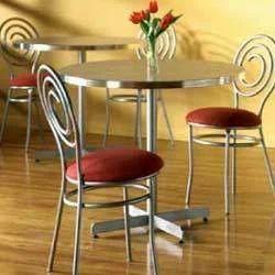 Round Decorative SS Furniture