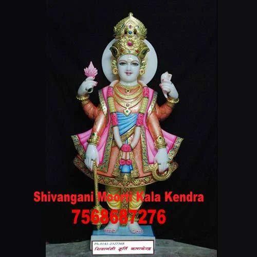 God Vishnu Idol Marble Vishnu Moorti Manufacturer From