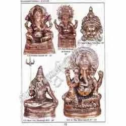 Brass Sankar Ji Takiya Ganesh