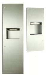 Recessed Paper Towel Dispenser / Waste Receptacle