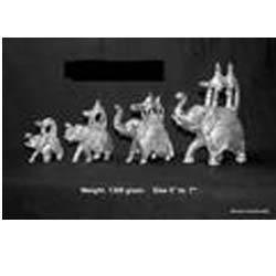Ambabari Elephant Statues