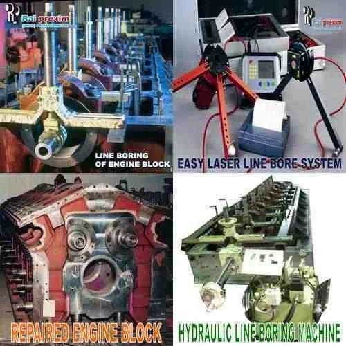 Line Boring and Laser Alignment - Line Boring Service