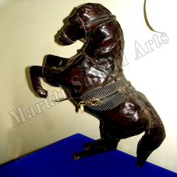 Leather Jumping Horse