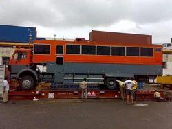 International Shipping Of Overland Trucks, Mode Type: Sea, Capacity / Size Of The Shipment: 20'feet,40' Feet
