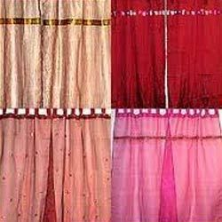 Hand Embroidered Curtains